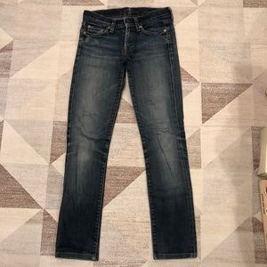 7 for All Mankind Blue Jeans size 26